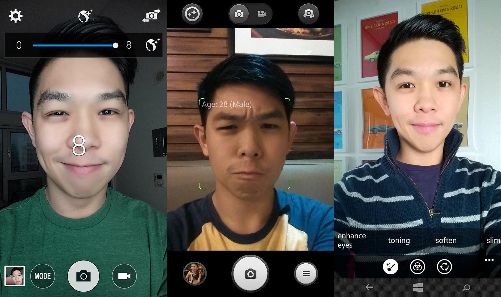 selfies-samsung-xiaomi-lumia